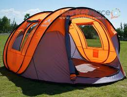 Oileus Pop Up Tent Family Camping Tents 4 Person