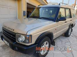 Land Rover, Discovery, 2.5L, 2002, Manual