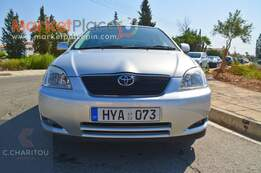 Toyota, Corolla, 1.6L, 2002, Manual