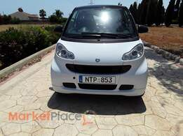 Smart, Fortwo, 0.8L, 2012, Automatic