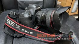 Canon 5D Mark III with box and 24-105 lens